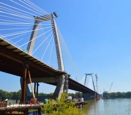 East End Crossing Bridge September 2016 (Courtesy Louisville-Southtern Indiana Ohio River Bridges Project))